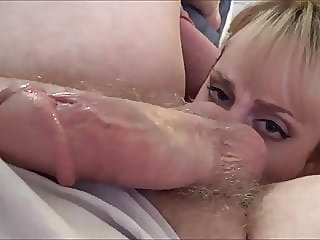 blonde,cumshot,big boobs