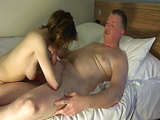 blowjob,creampie,old &