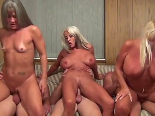 grannies,group sex,female choice