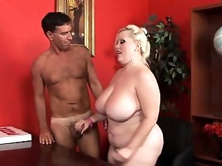 bbw,big boobs,blonde